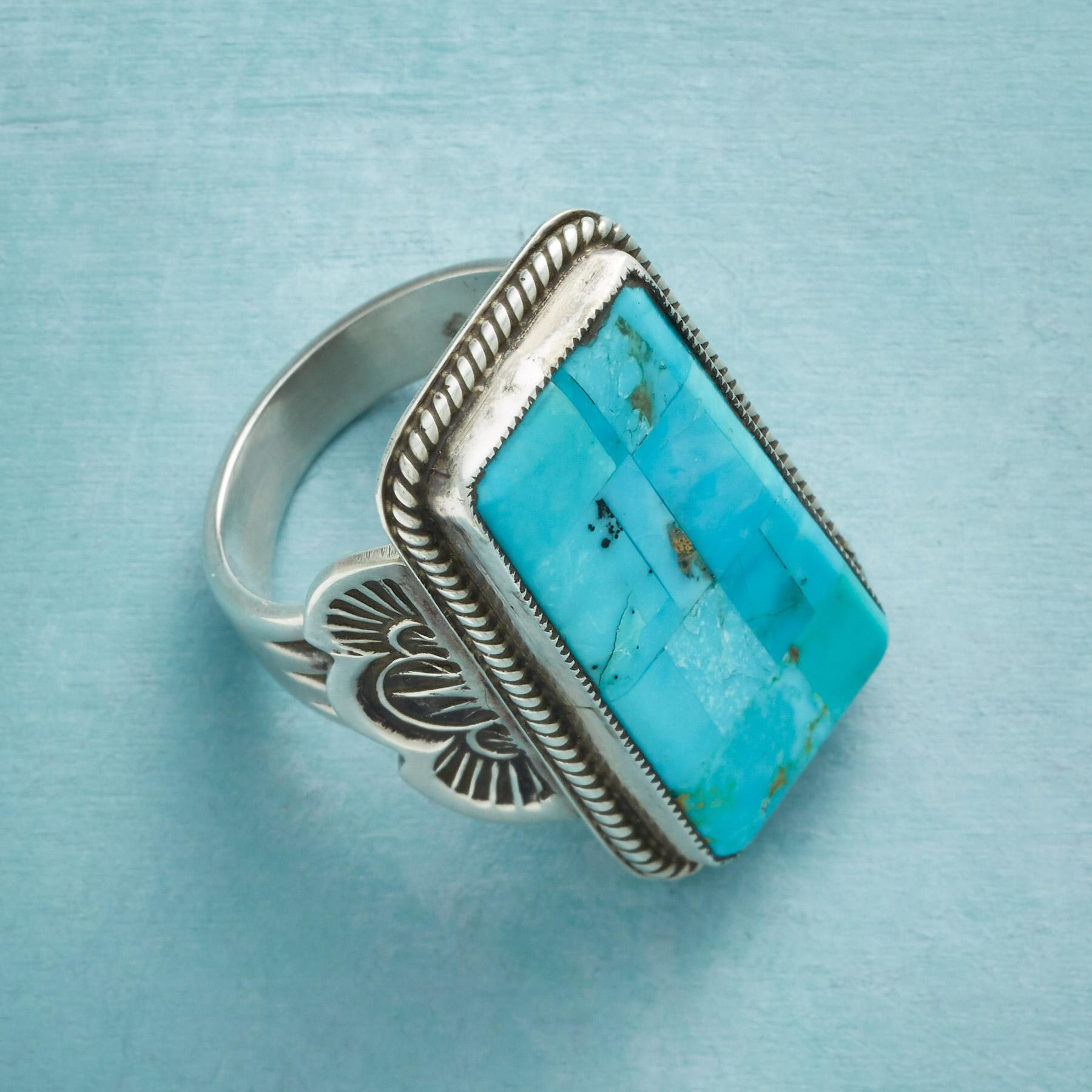 AT ALTITUDE TURQUOISE RING: View 3