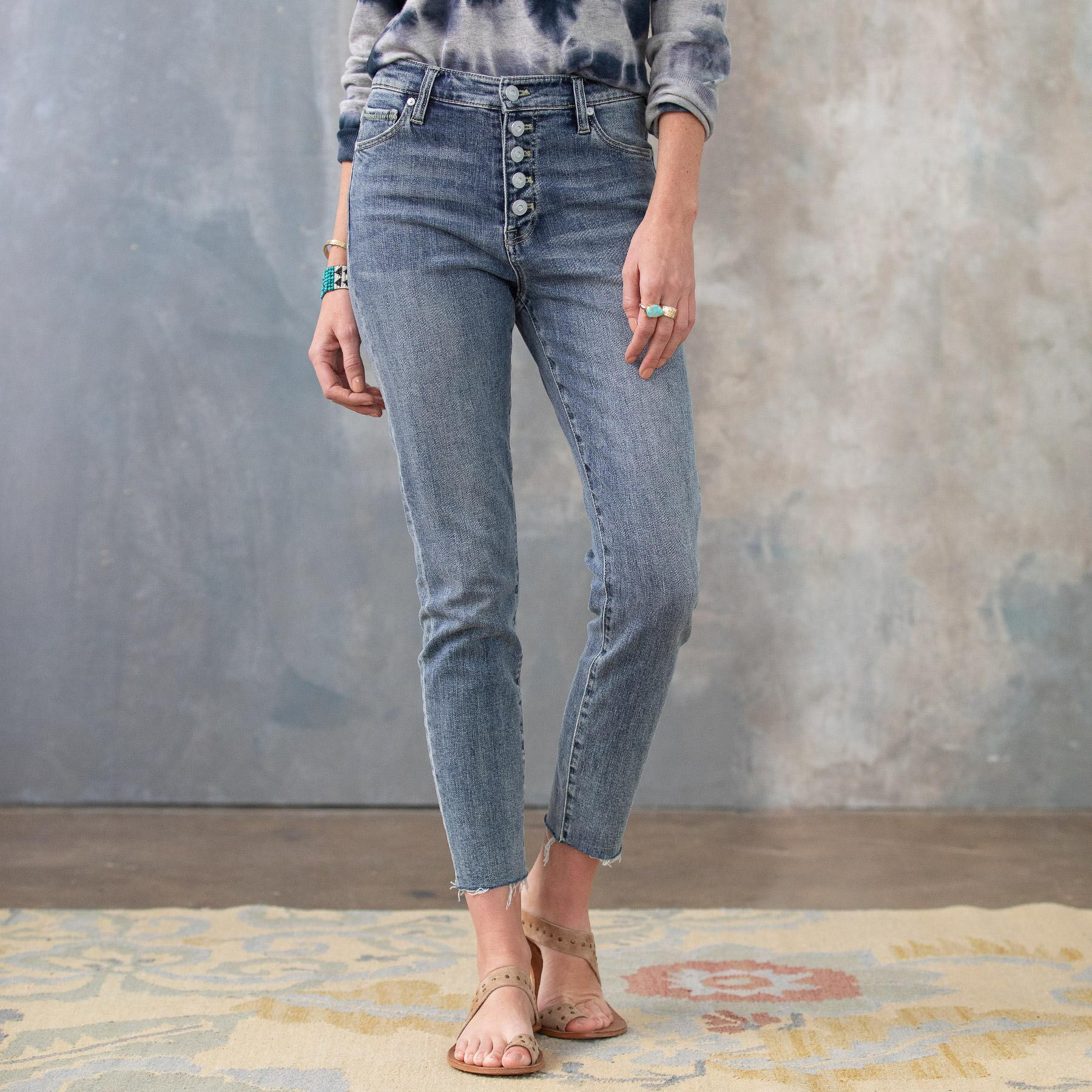 CONRAD SKINNY ANKLE JEANS: View 2