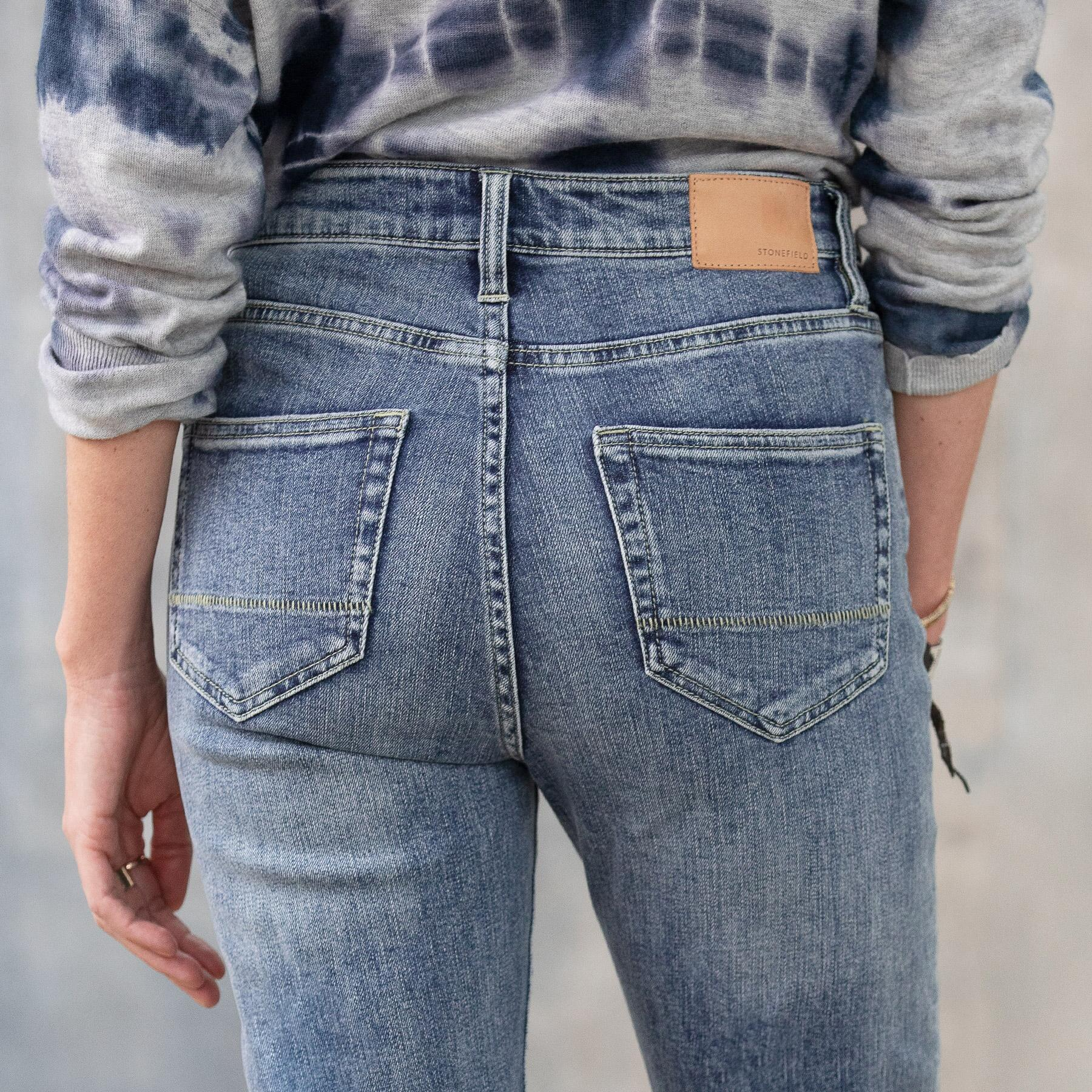 CONRAD SKINNY ANKLE JEANS: View 6