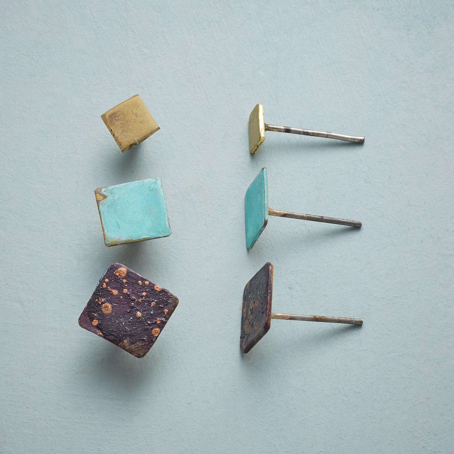 SQUARE ON STUDS, Set of 3: View 1