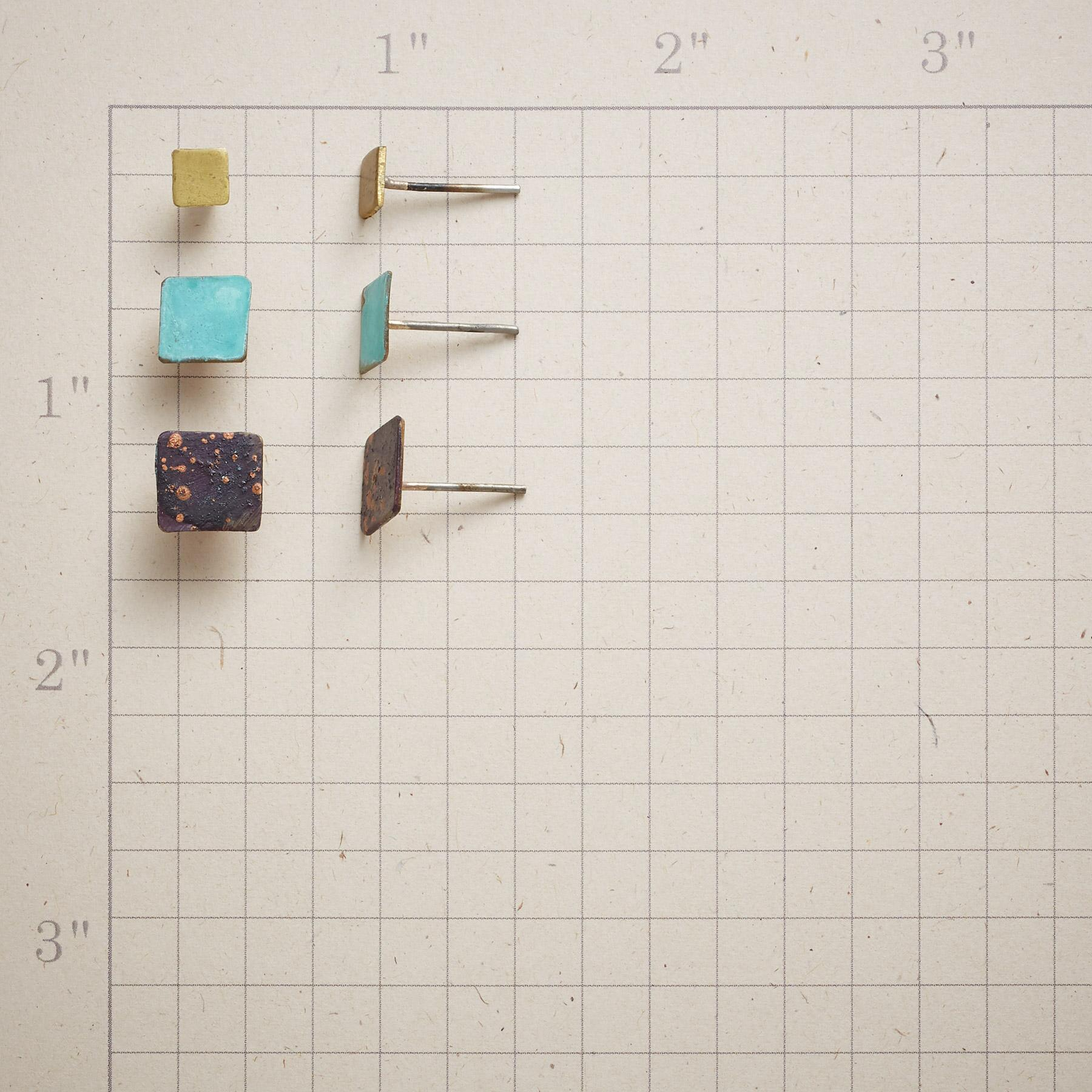 SQUARE ON STUDS, Set of 3: View 3