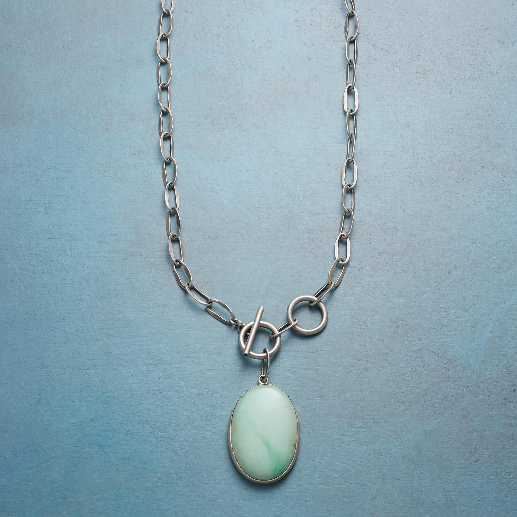 CHRYSOPRASE NECKLACE: View 1