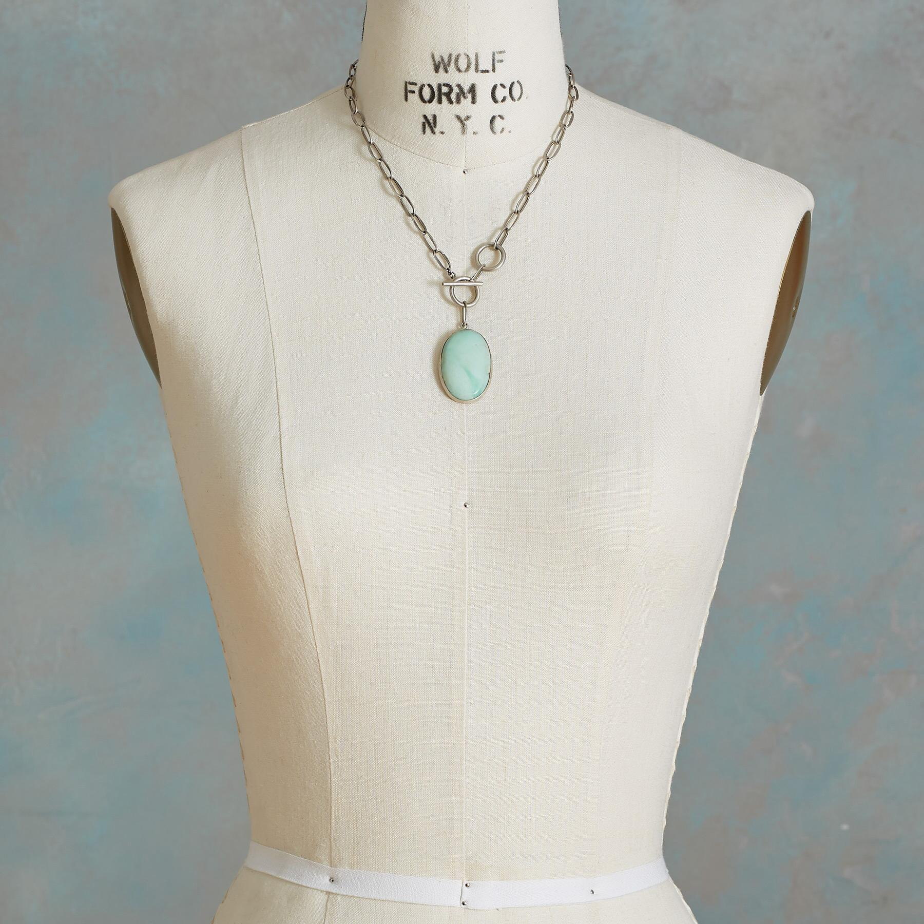 CHRYSOPRASE NECKLACE: View 4