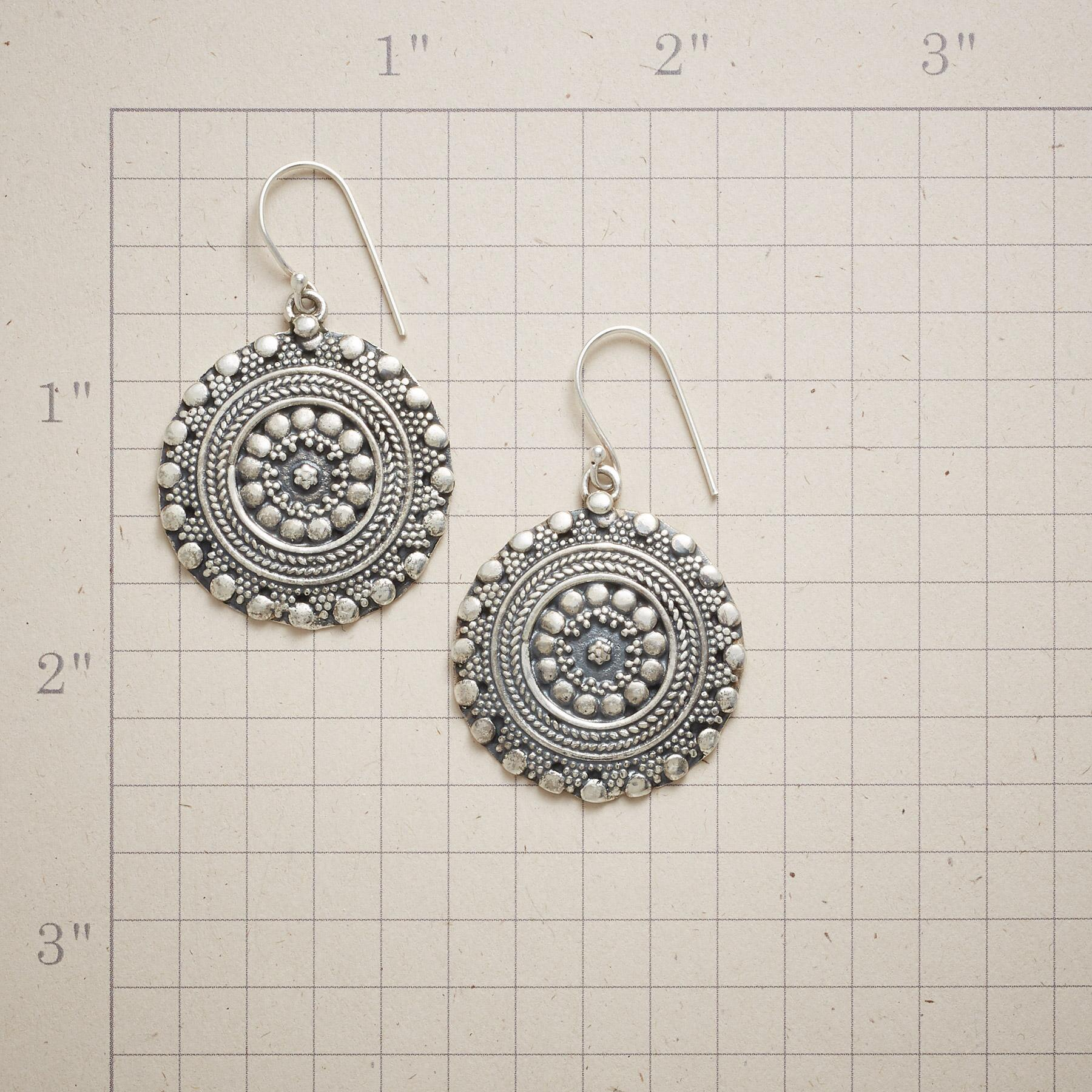 MEDALLION EARRINGS: View 2