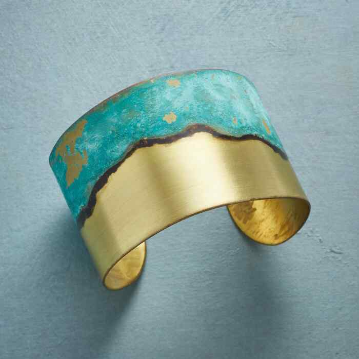 Brass Patina Cuff