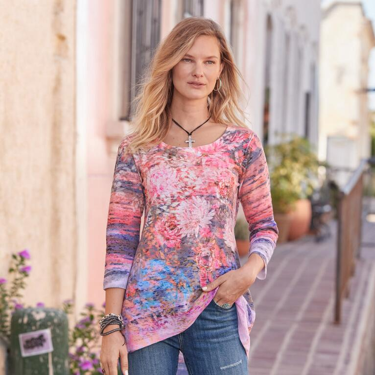 FOSTER FLORAL TOP