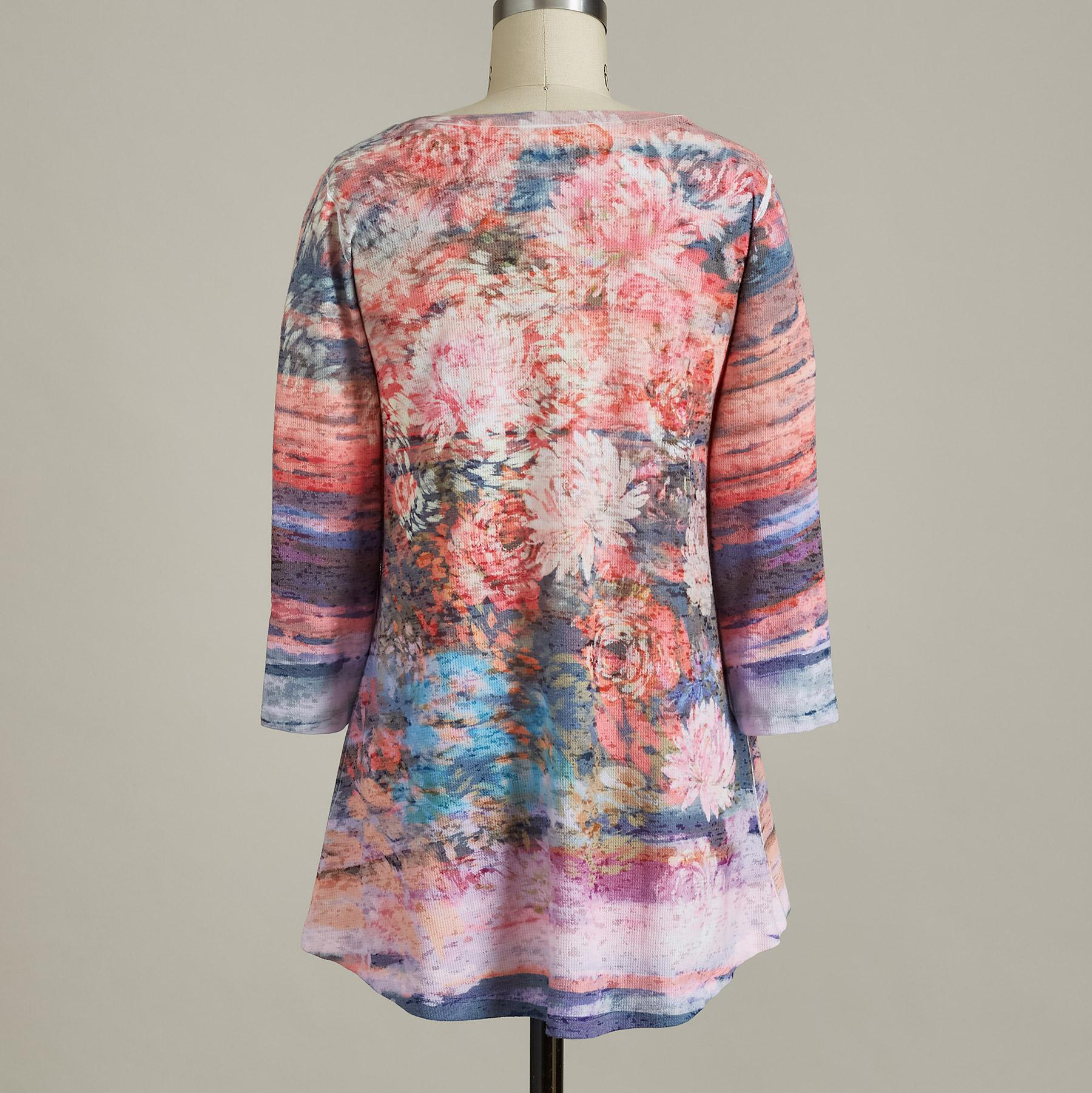 FOSTER FLORAL TOP: View 2