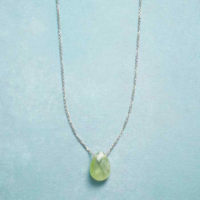 BIRTHSTONE BRIOLETTE NECKLACE