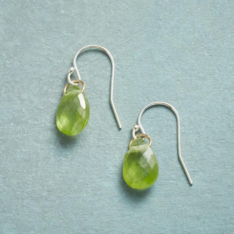 BIRTHSTONE BRIOLETTE EARRINGS