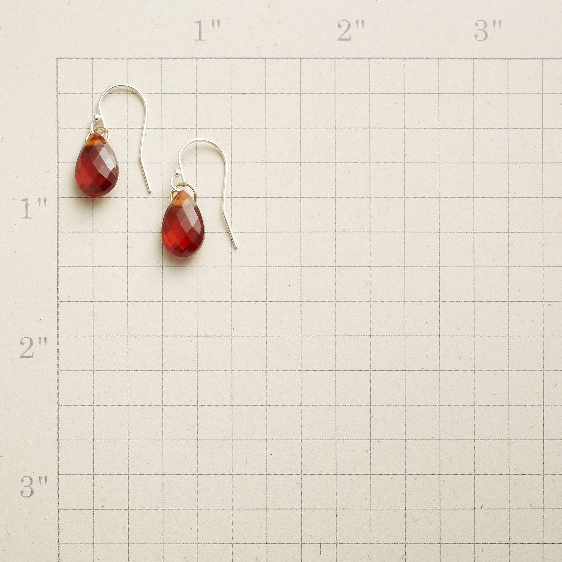 BIRTHSTONE BRIOLETTE EARRINGS: View 2