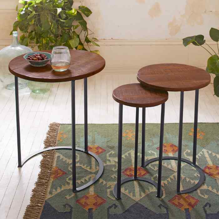 HAVEN NESTING TABLES, SET OF 3