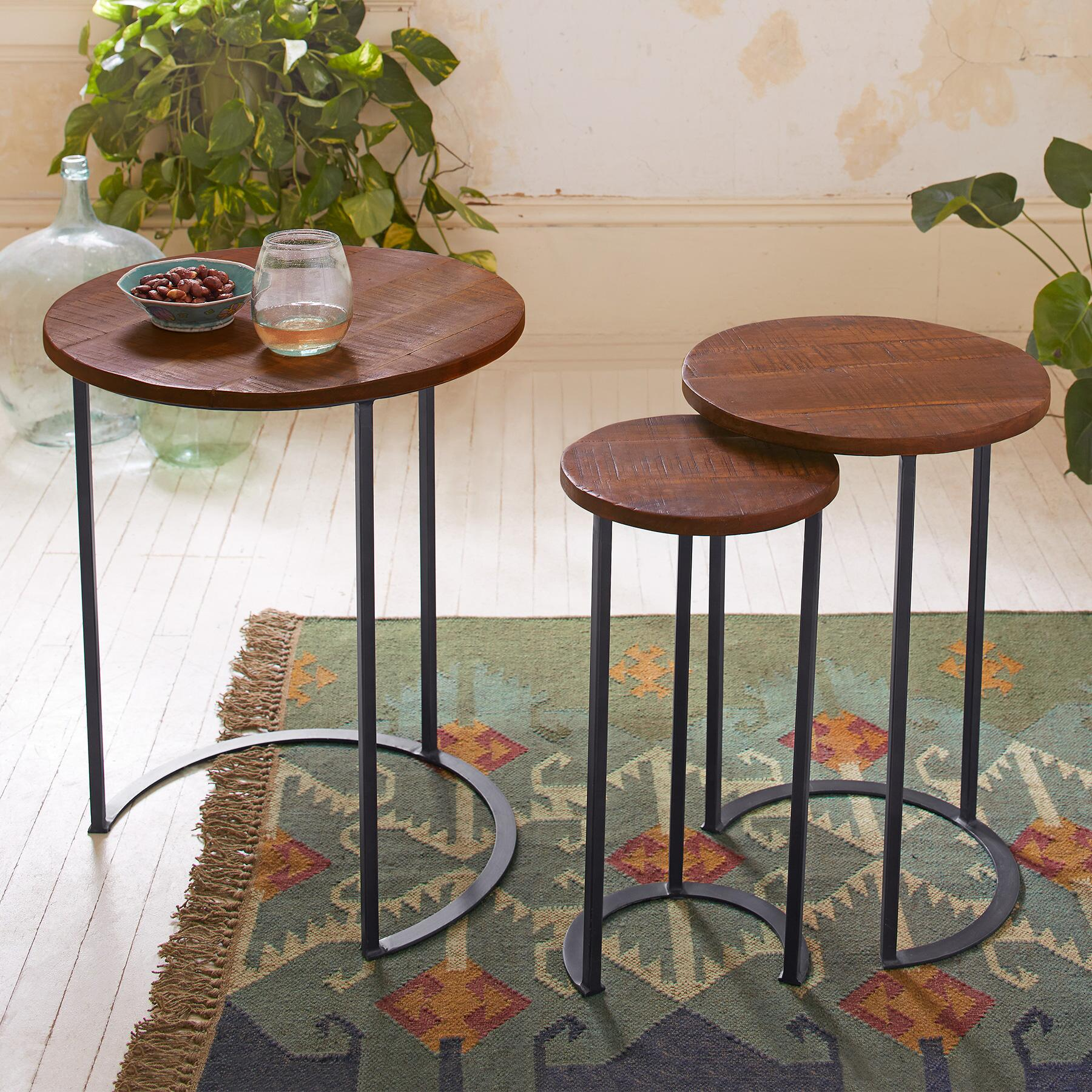 HAVEN NESTING TABLES, SET OF 3: View 1