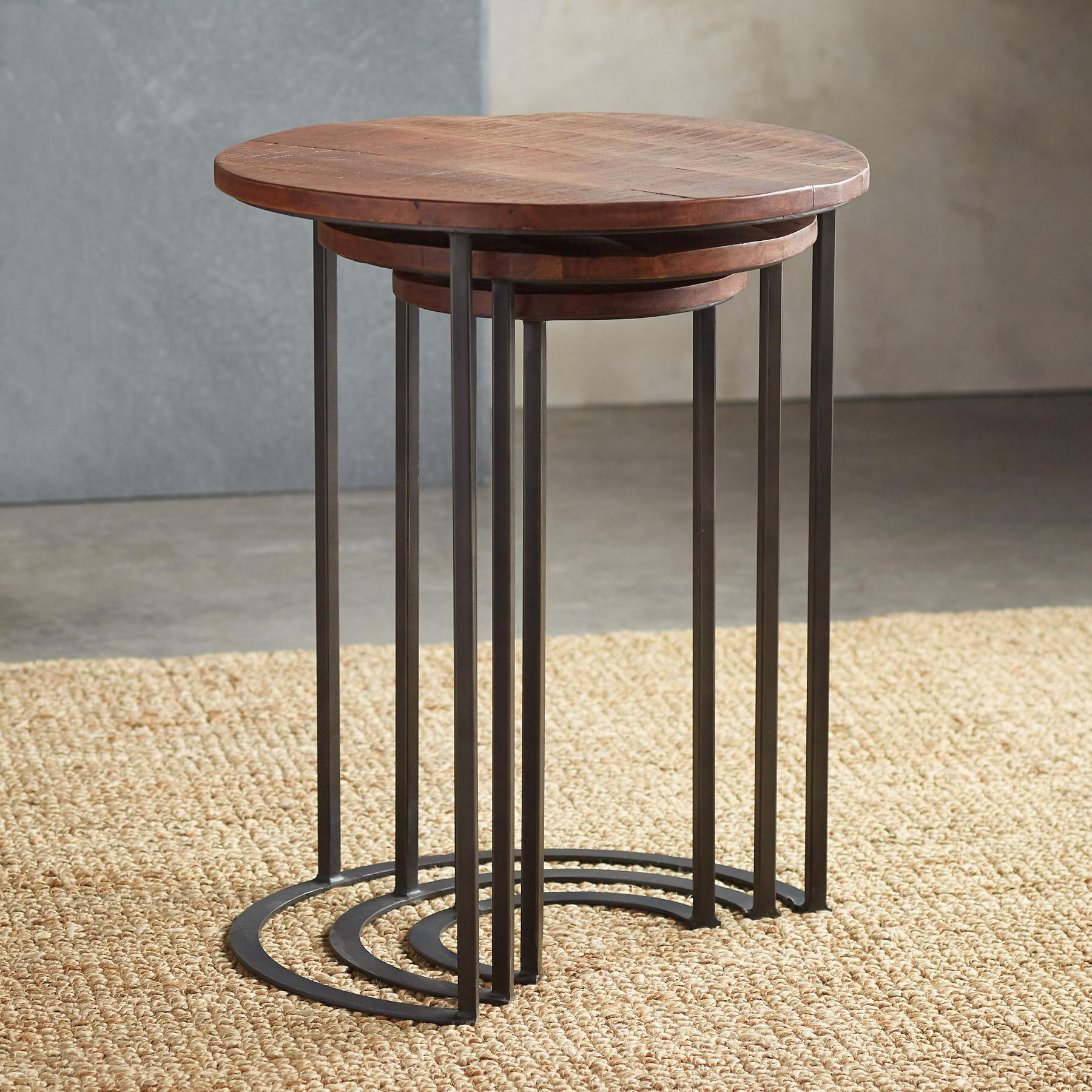 HAVEN NESTING TABLES, SET OF 3: View 2