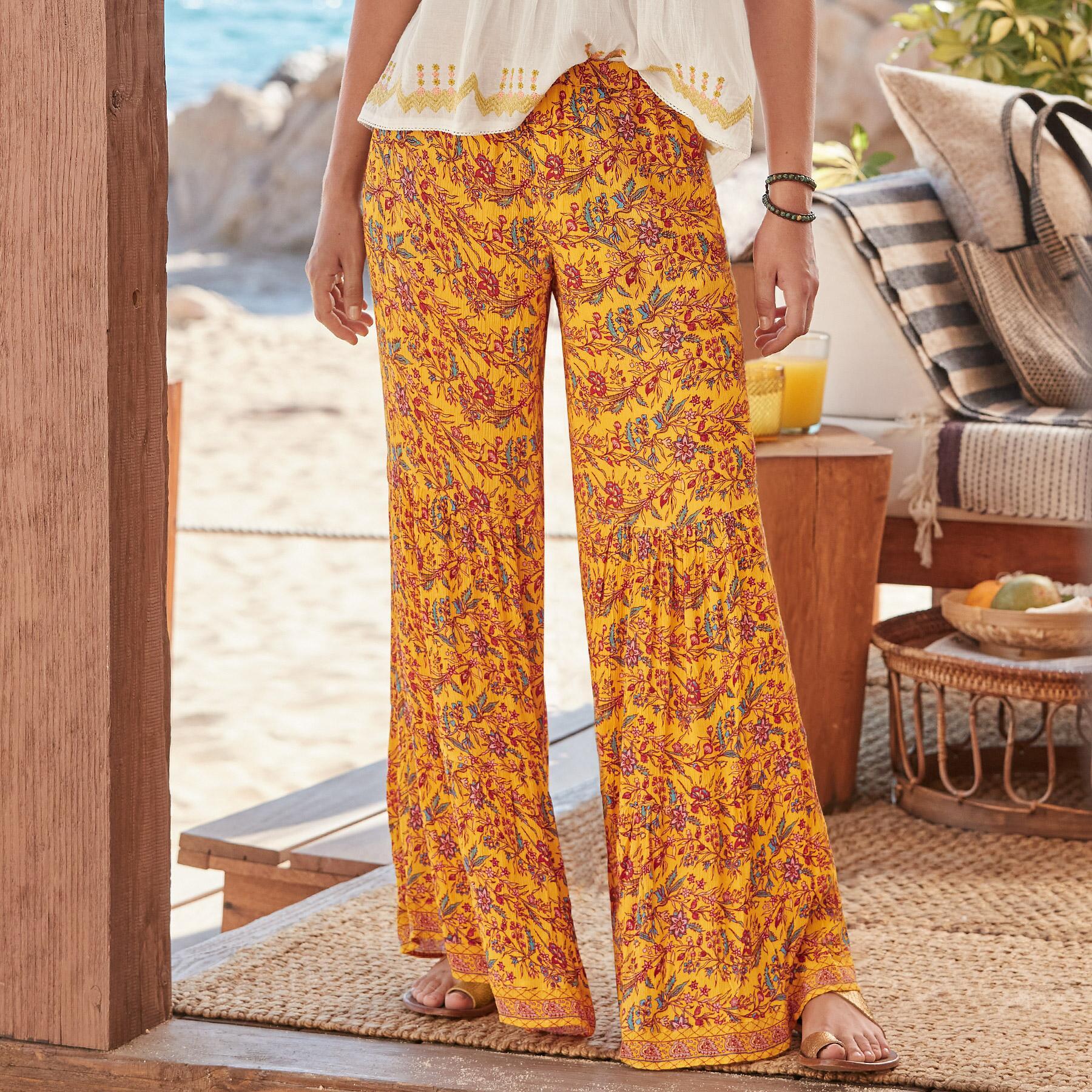 BEACHSIDE DAYDREAM PANTS: View 1