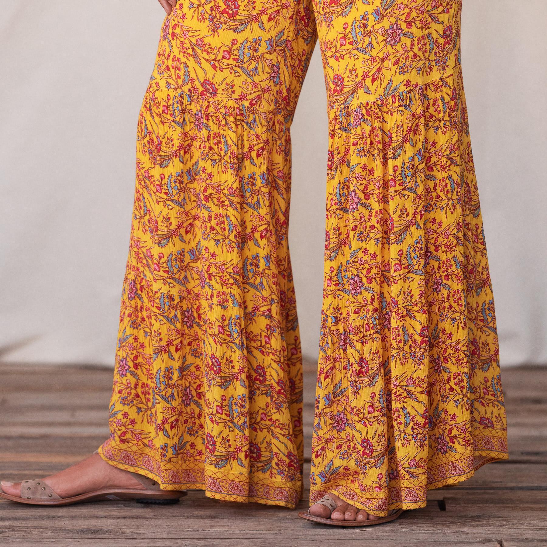 BEACHSIDE DAYDREAM PANTS: View 5