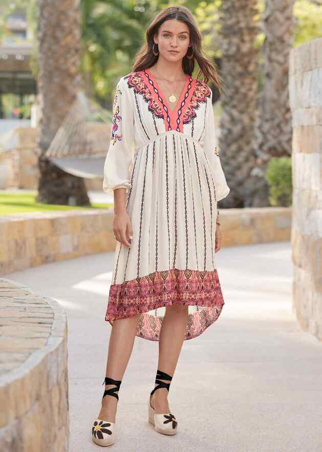 AMRITA STORY DRESS - PETITES