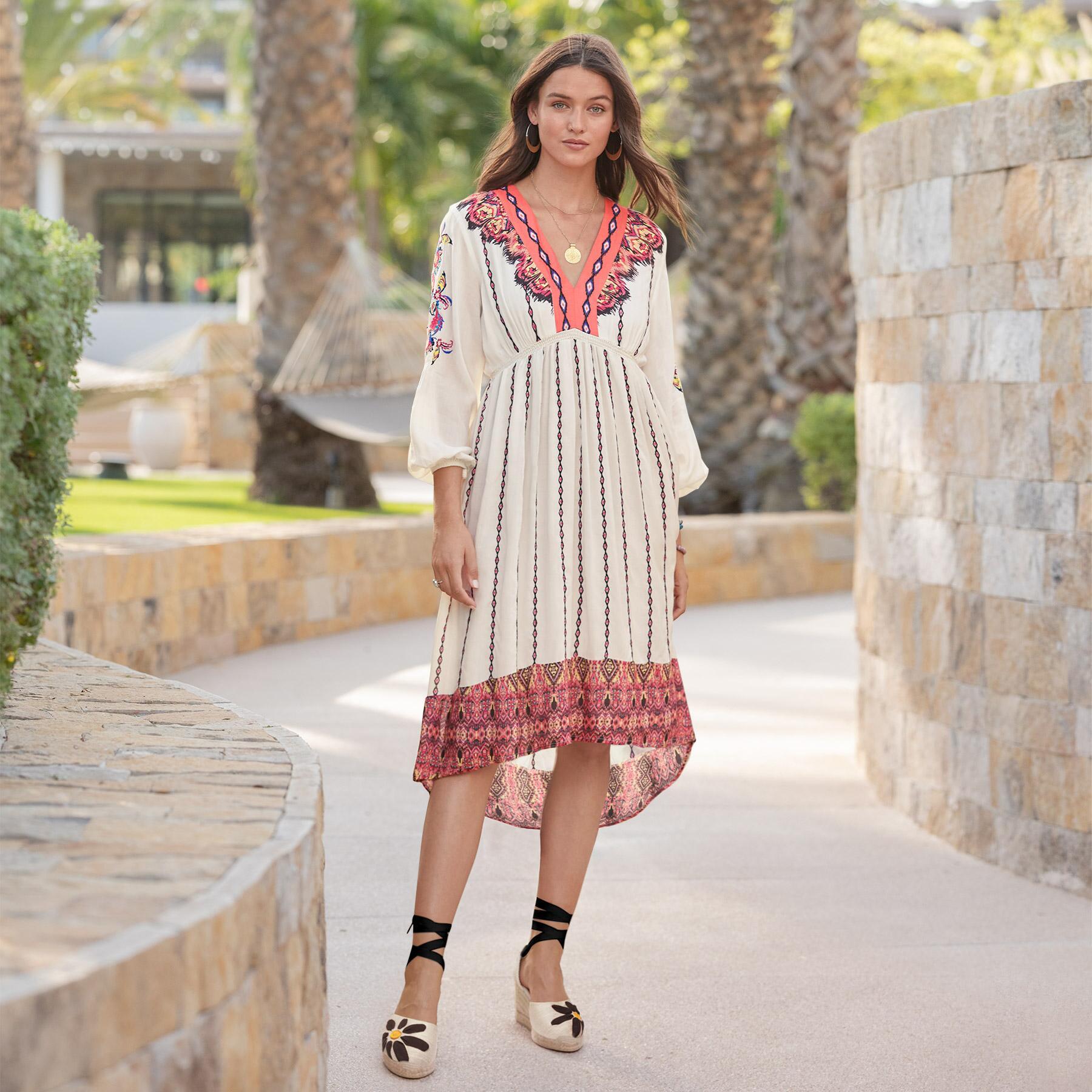 AMRITA STORY DRESS - PETITES: View 1