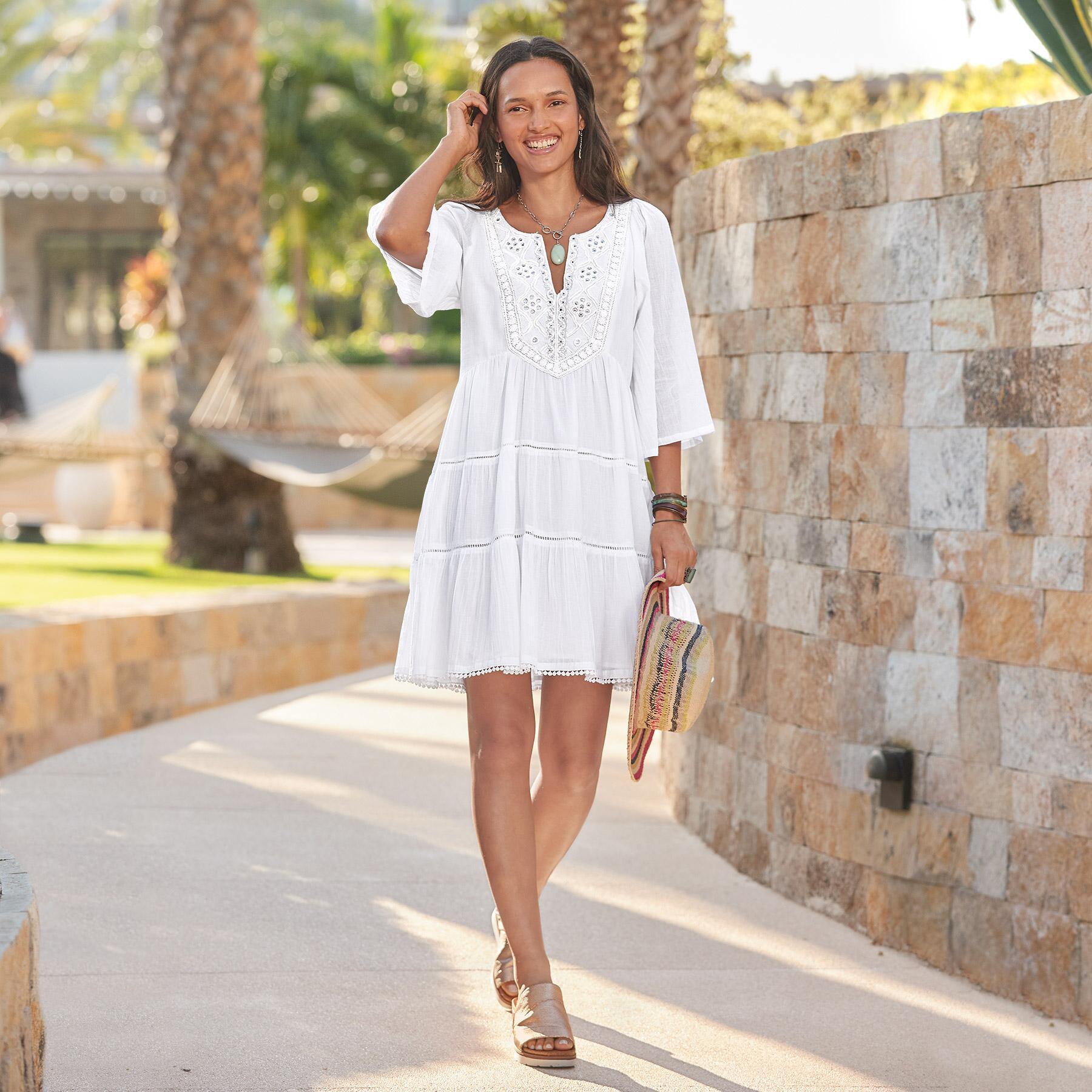 SAHARA DRESS - PETITES: View 1