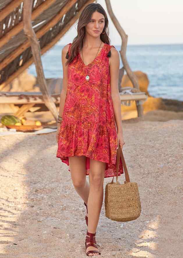 FLAMENCO FLORAL DRESS