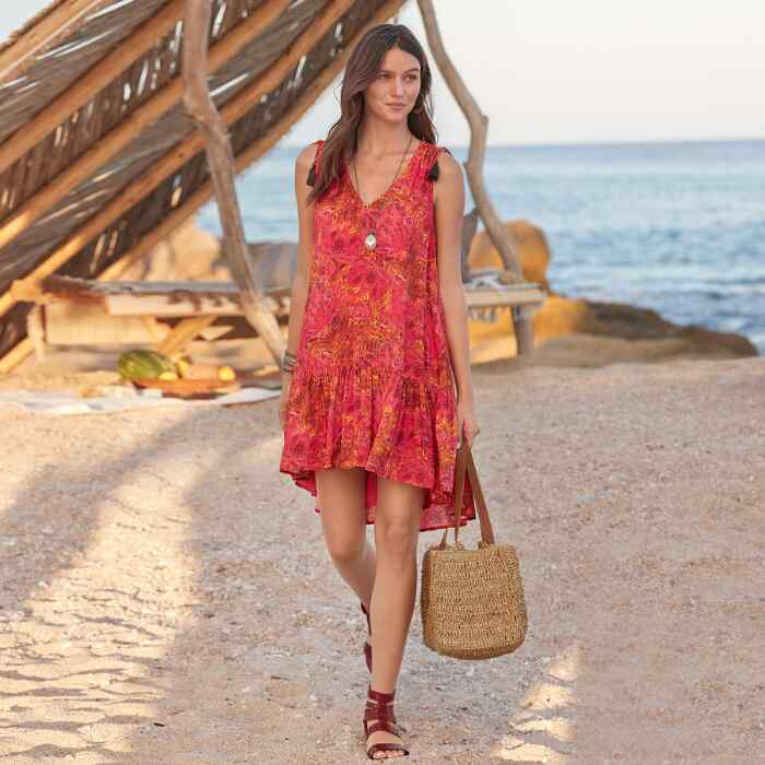 FLAMENCO FLORAL DRESS