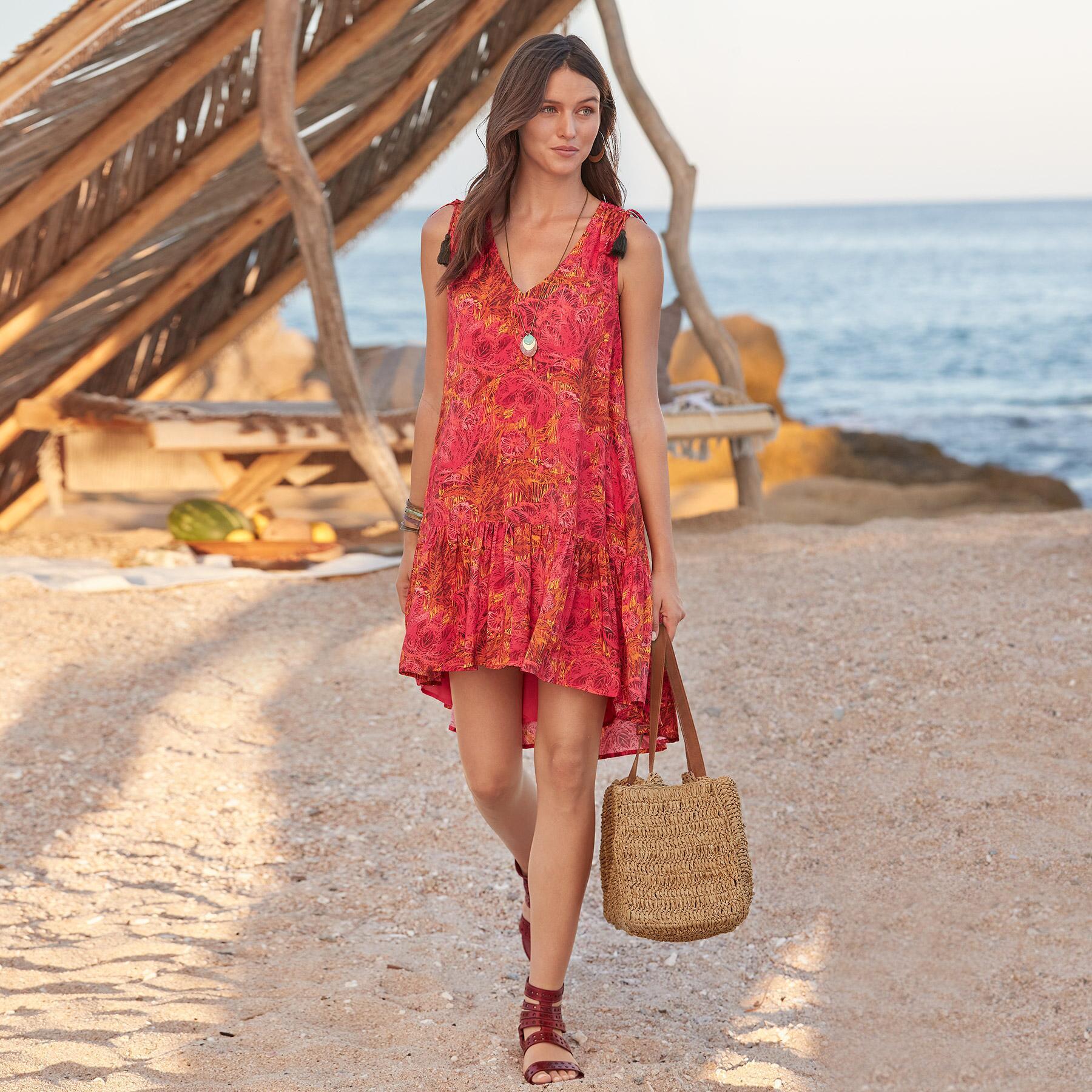 FLAMENCO FLORAL DRESS: View 1