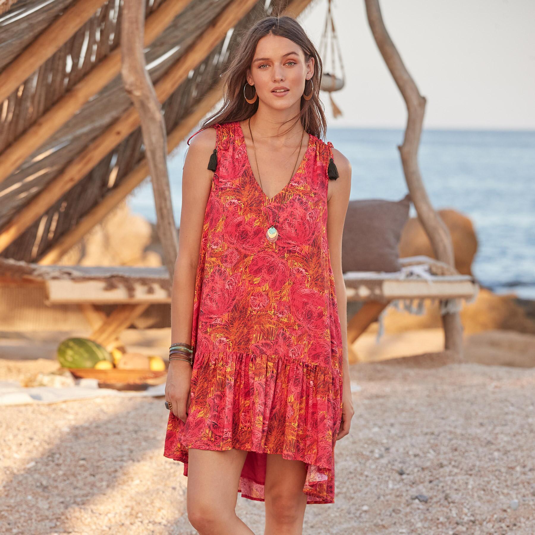 FLAMENCO FLORAL DRESS: View 2