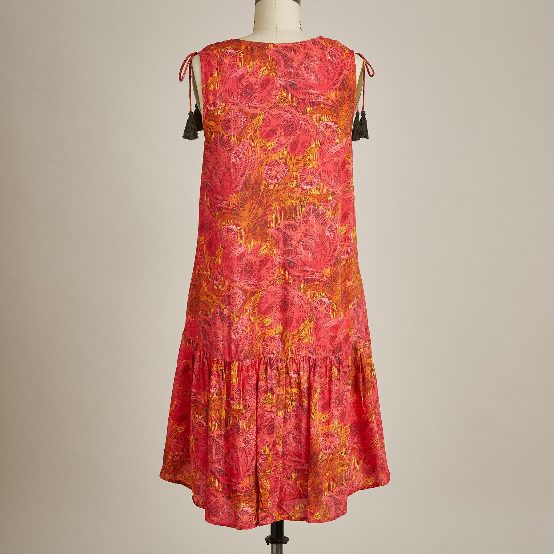 FLAMENCO FLORAL DRESS: View 3