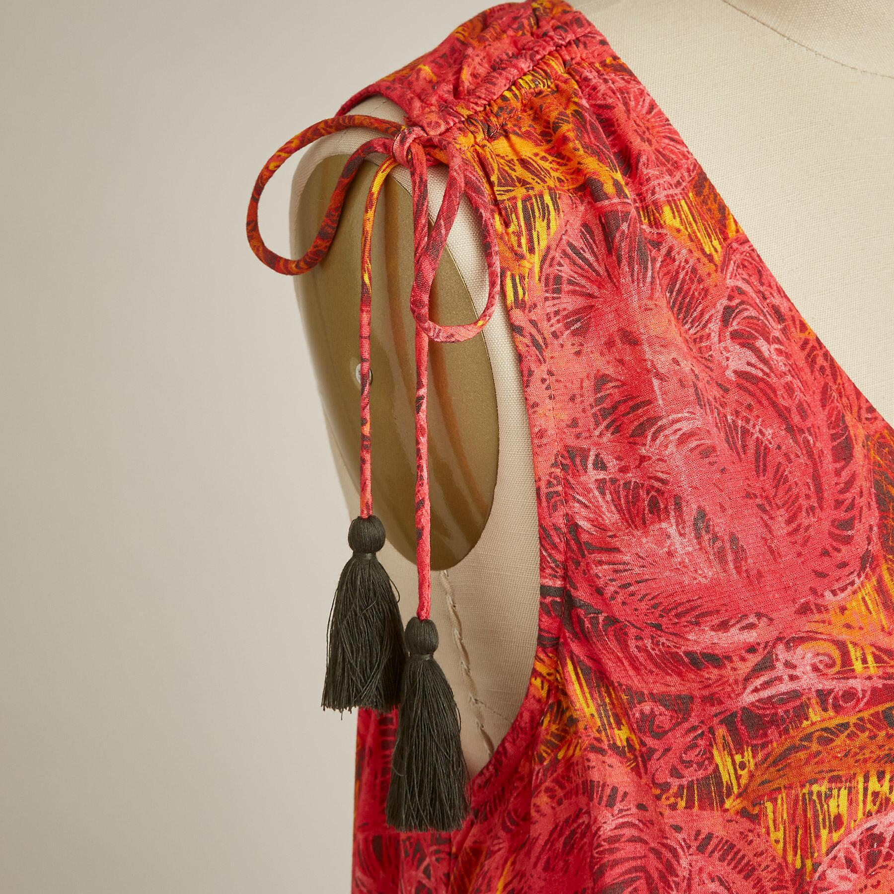 FLAMENCO FLORAL DRESS: View 4