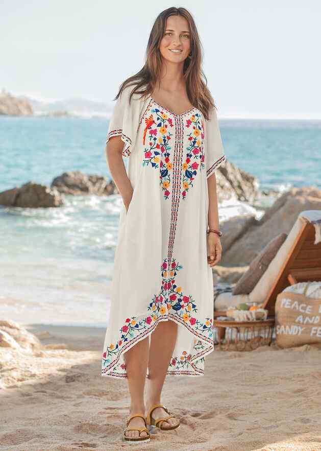 LIVIA BLOOM DRESS - PETITES