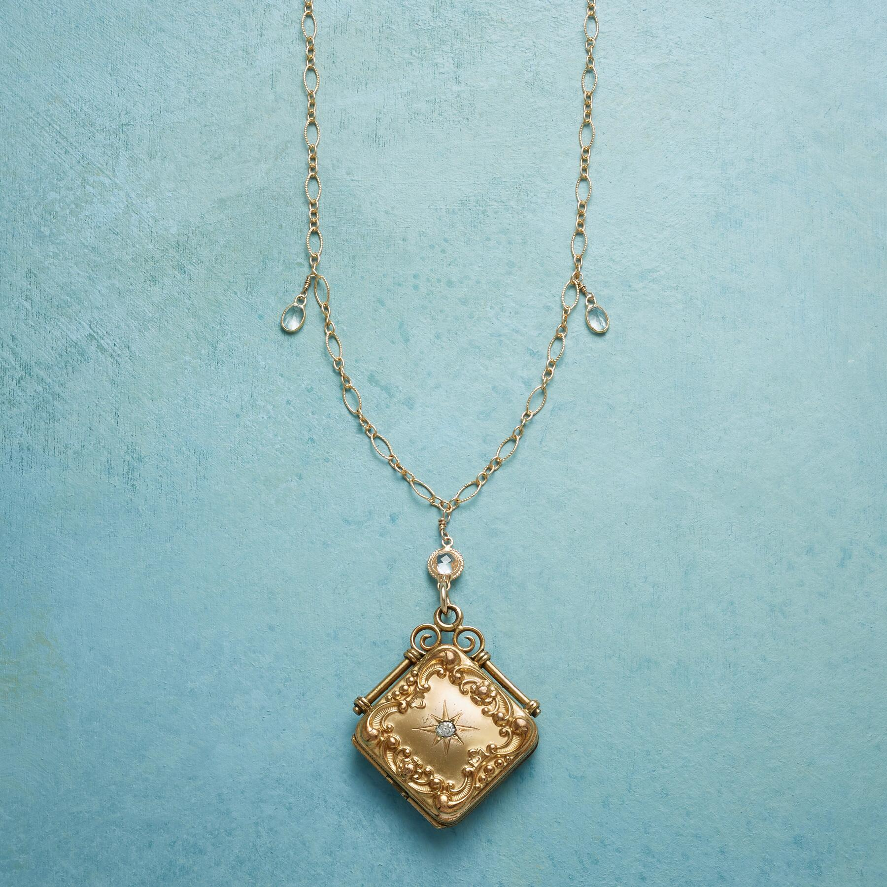 LILITH HEIRLOOM LOCKET NECKLACE: View 1