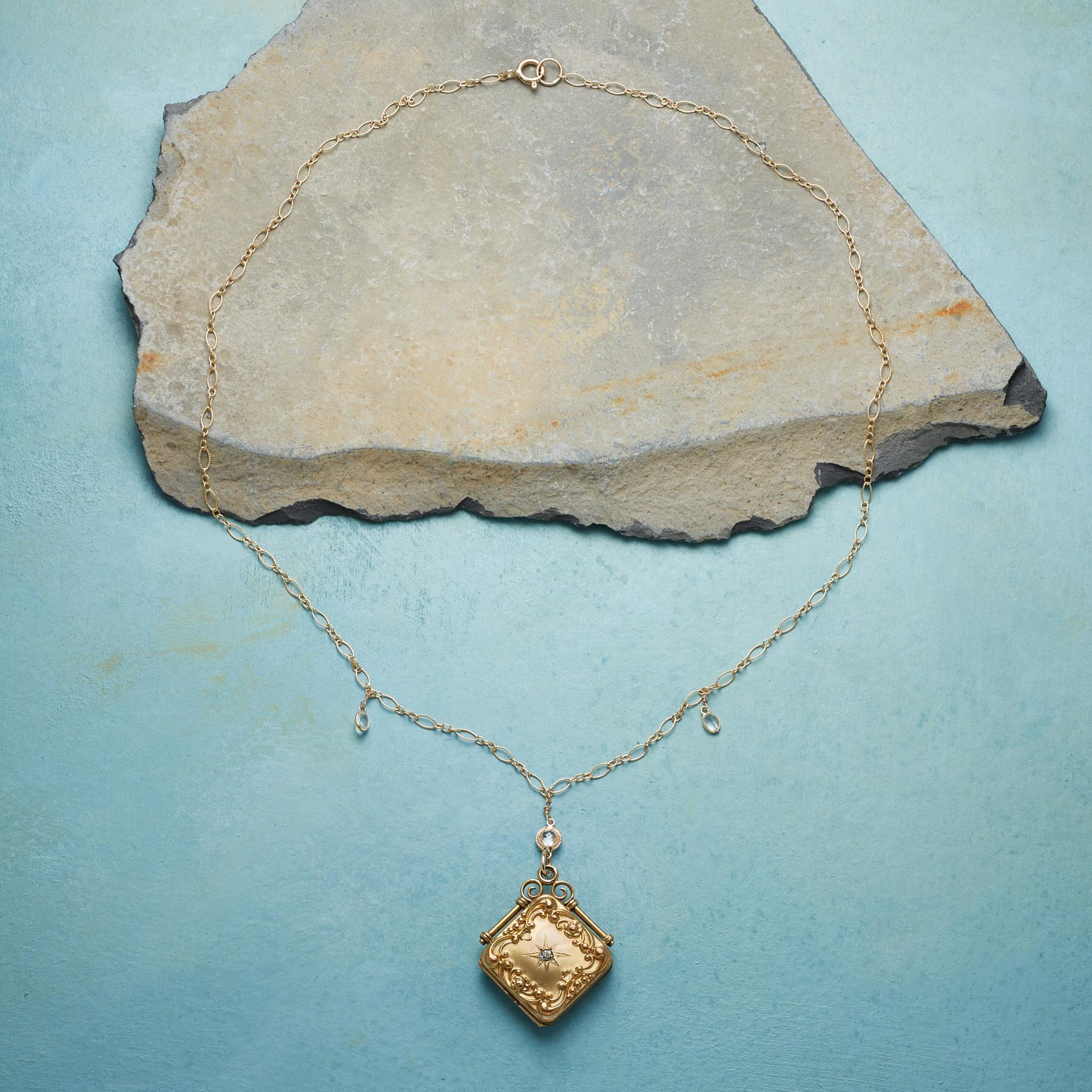 LILITH HEIRLOOM LOCKET NECKLACE: View 2