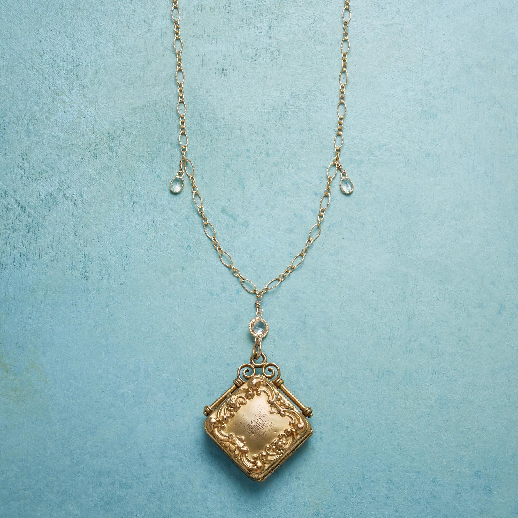 LILITH HEIRLOOM LOCKET NECKLACE: View 3