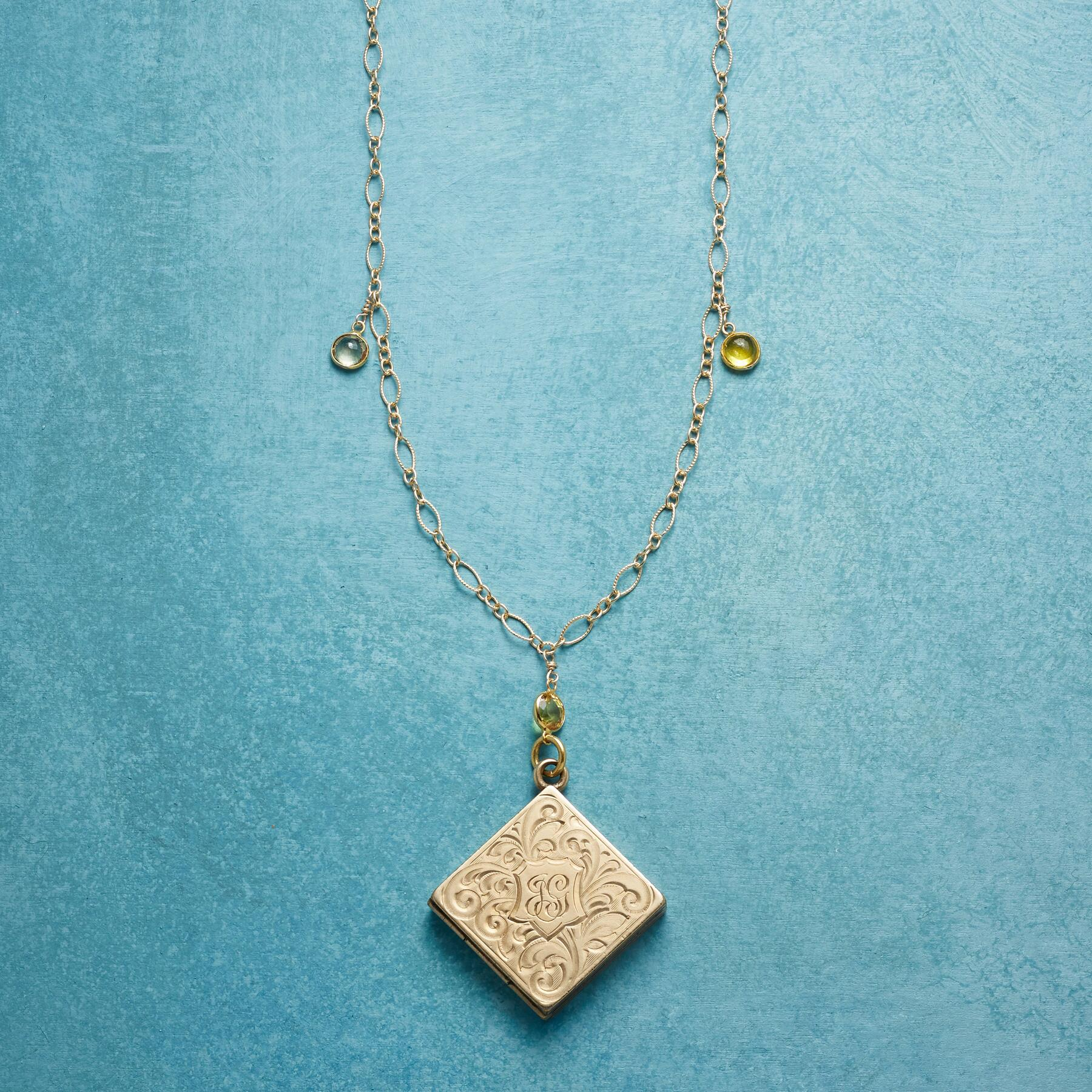 CICELY HEIRLOOM LOCKET NECKLACE: View 1