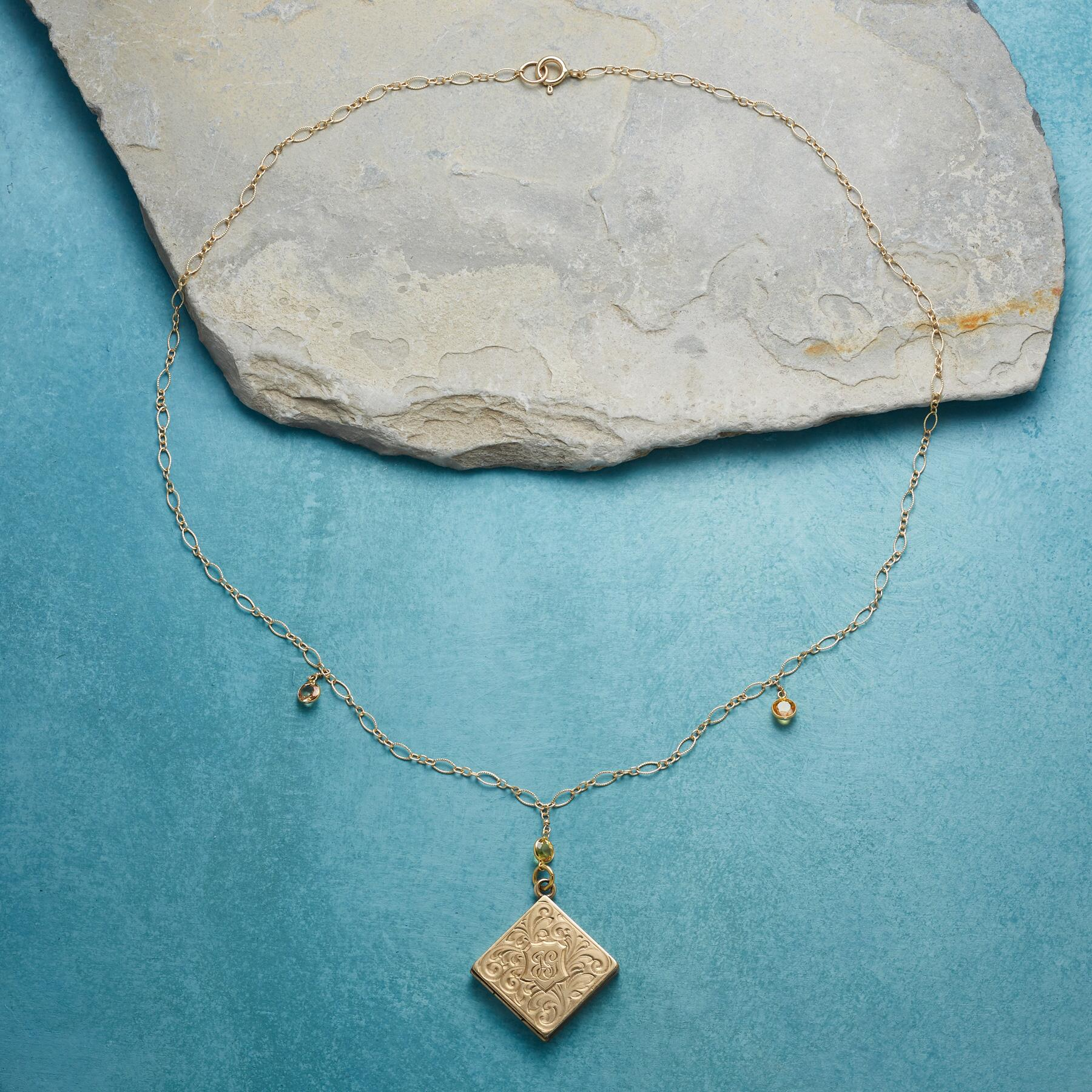 CICELY HEIRLOOM LOCKET NECKLACE: View 2