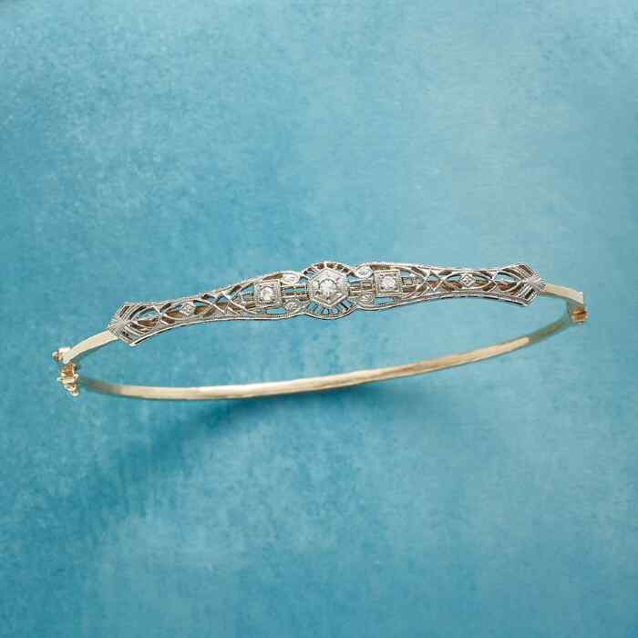 BILTMORE VINTAGE PIN BANGLE