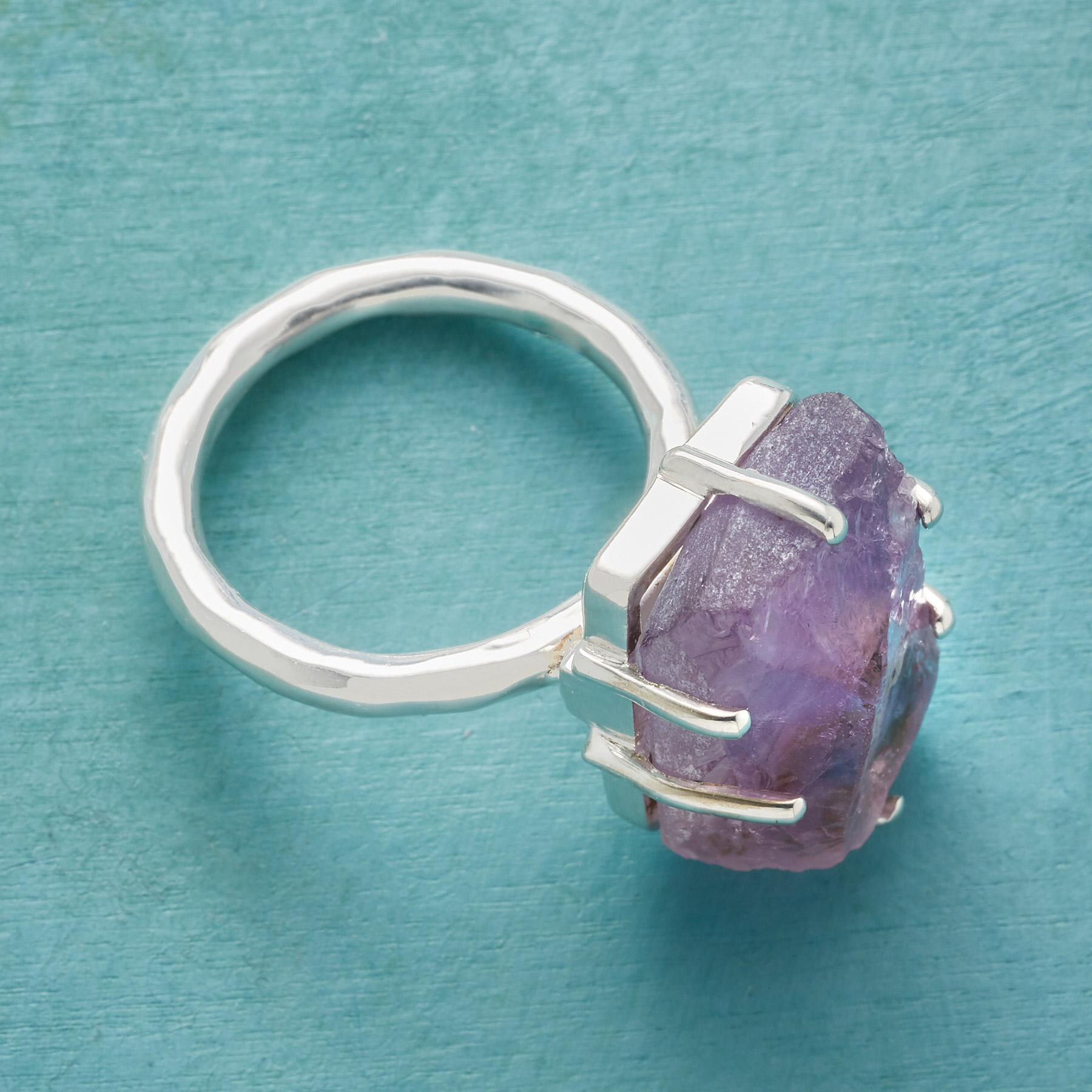 AFFINITY AMETHYST RING: View 2
