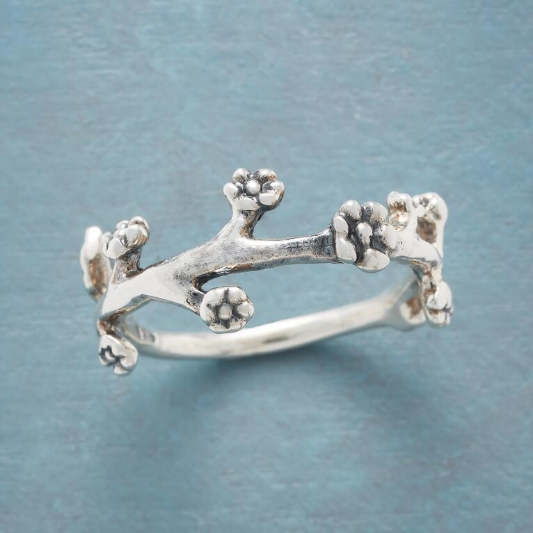 BLOSSOMING BRANCHES RING