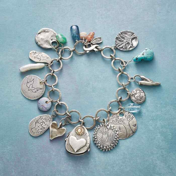 LOVING LOCKET CHARM BRACELET