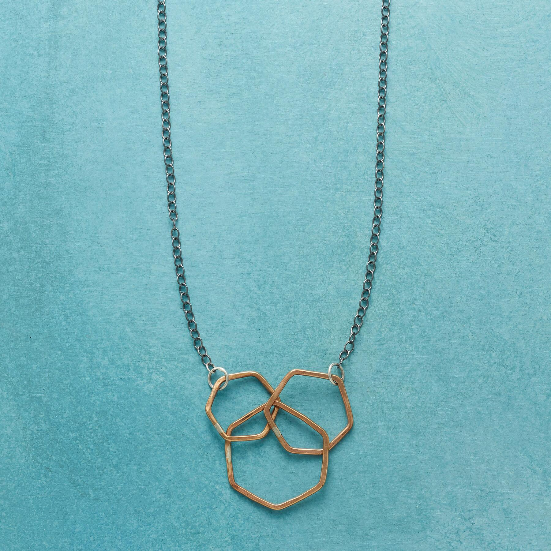 THREE VIRTUES NECKLACE: View 1