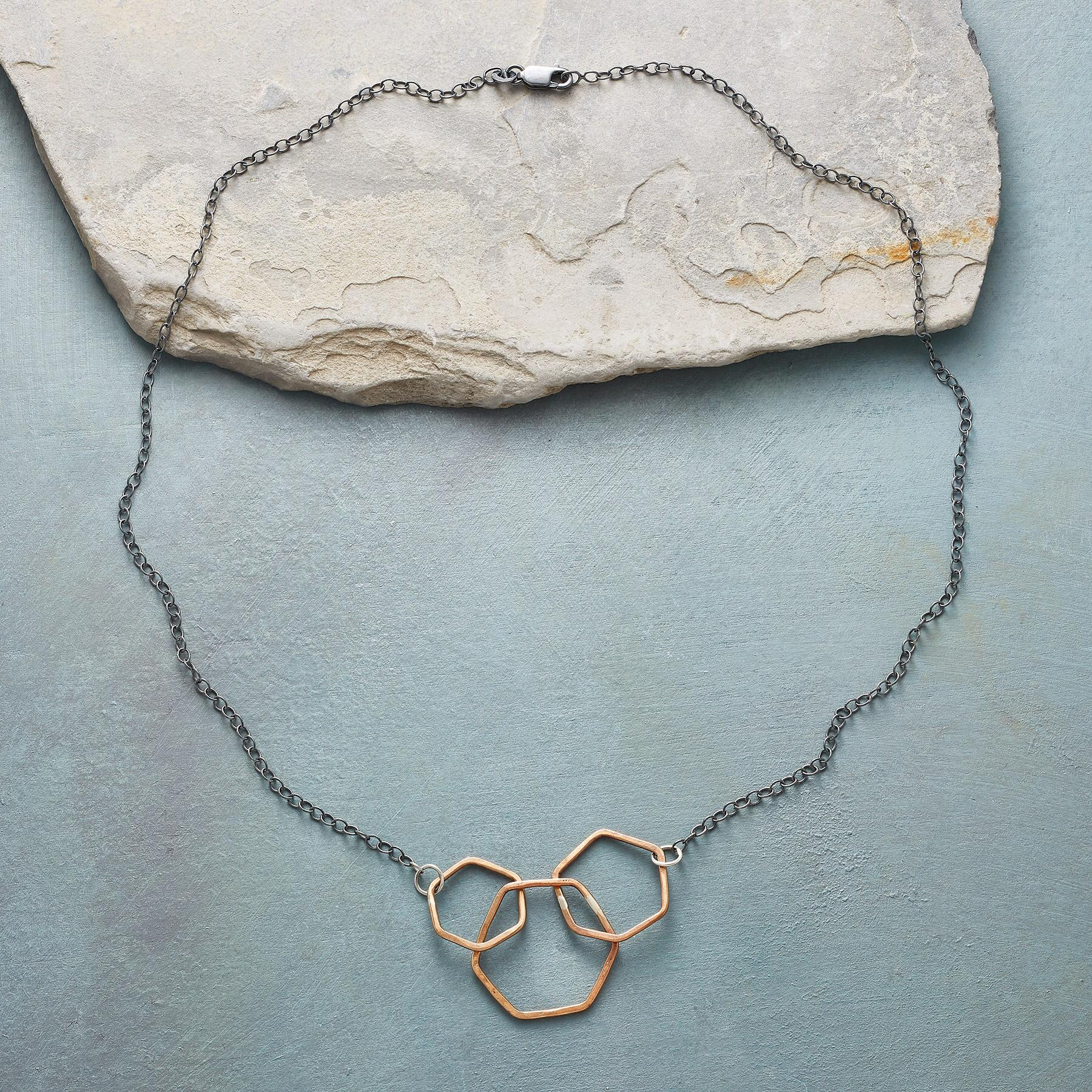 THREE VIRTUES NECKLACE: View 2