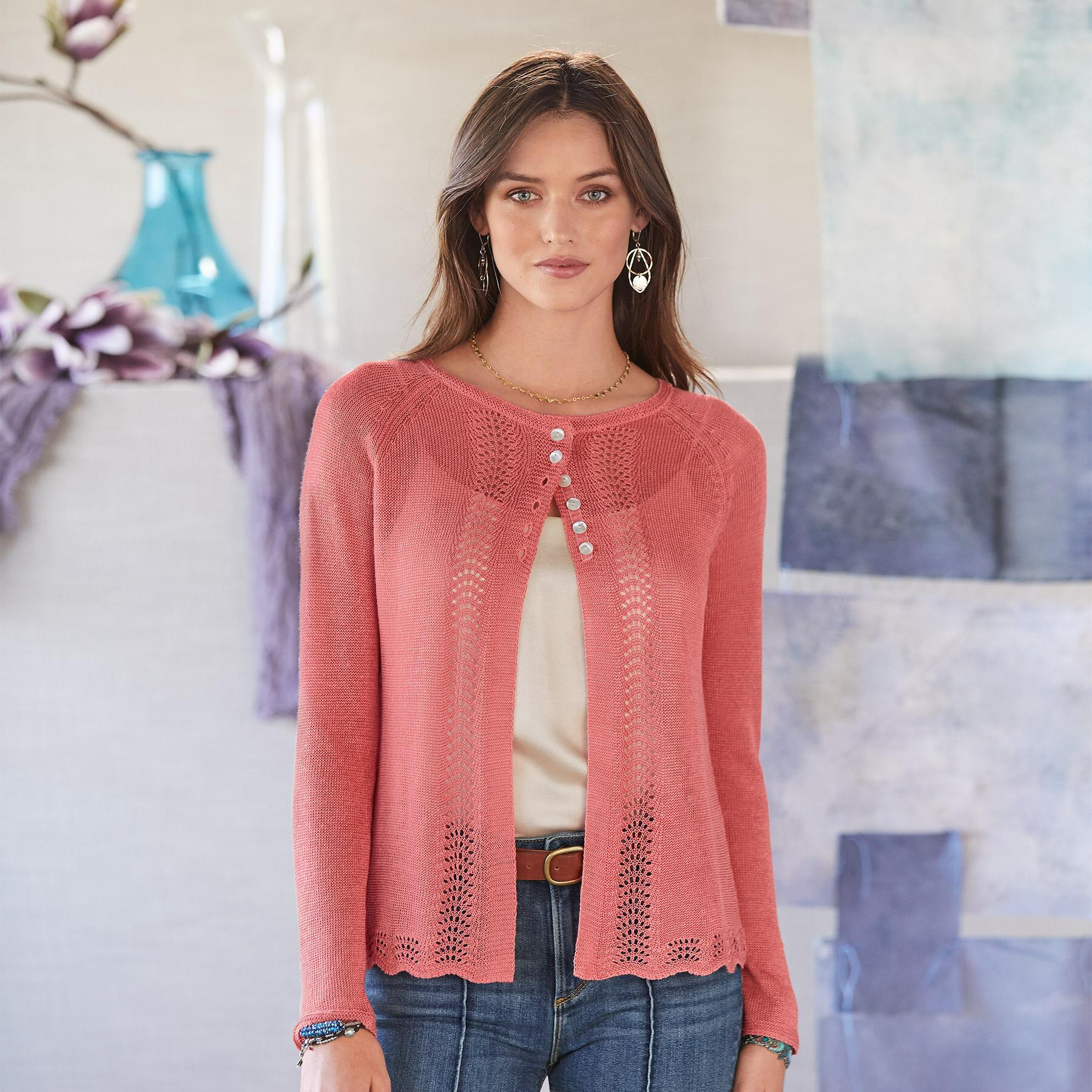 LACEY & LOVELY CARDIGAN - PETITES: View 1