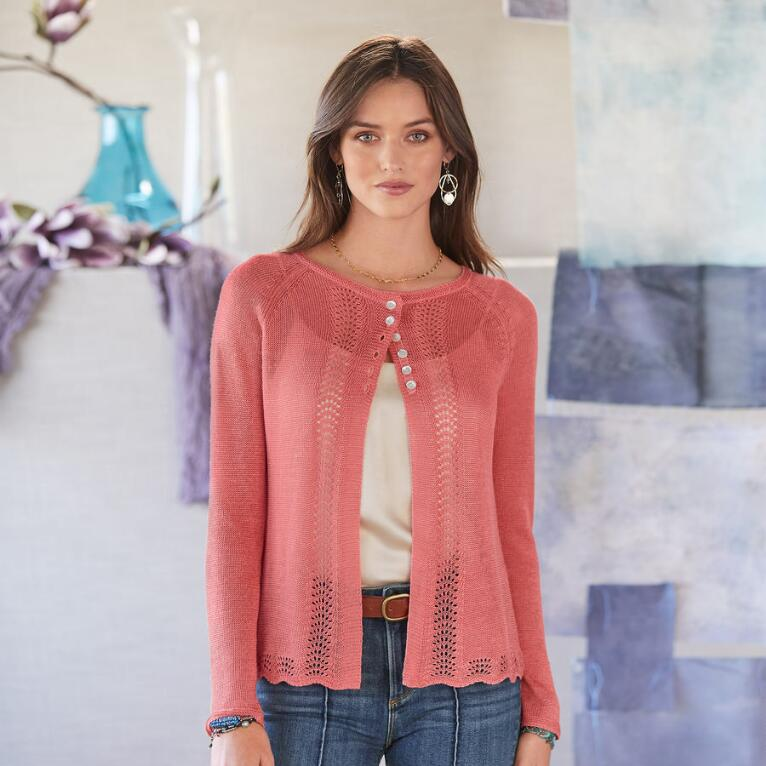 LACEY & LOVELY CARDIGAN - PETITES