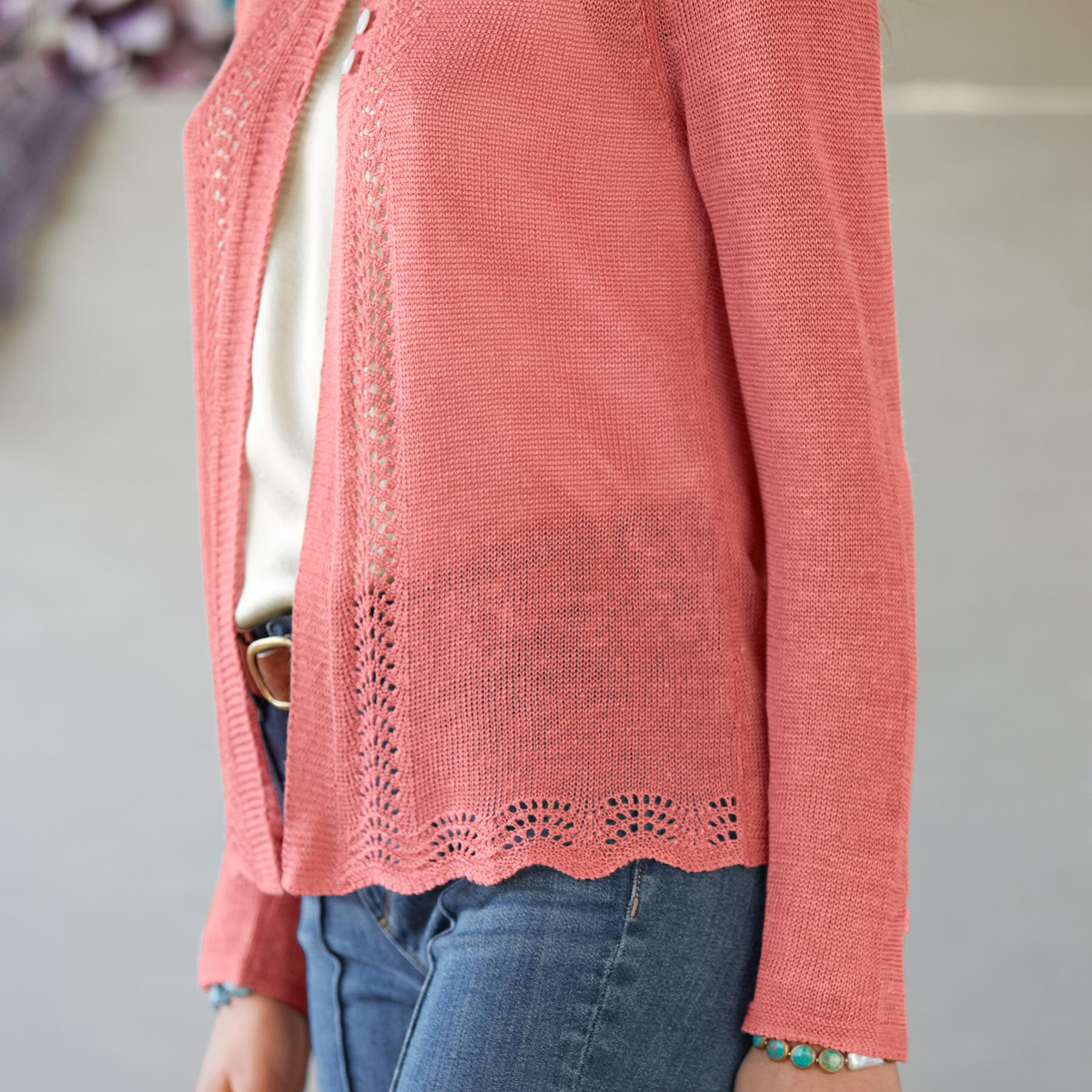LACEY & LOVELY CARDIGAN - PETITES: View 3