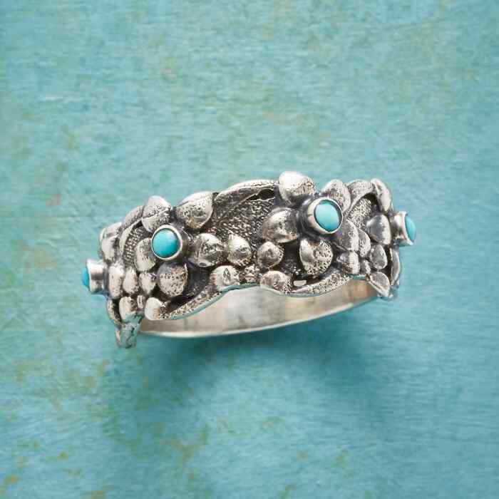 TURQUOISE BLOSSOMS RING