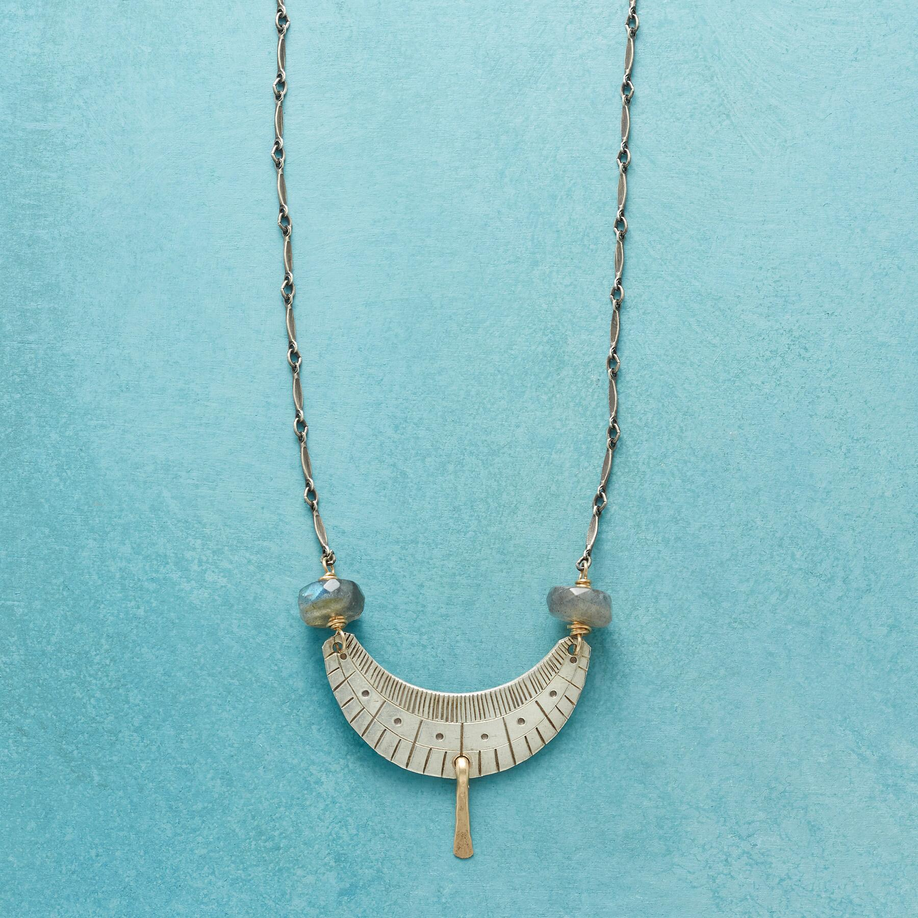 WEIGHTS AND BALANCES NECKLACE: View 1