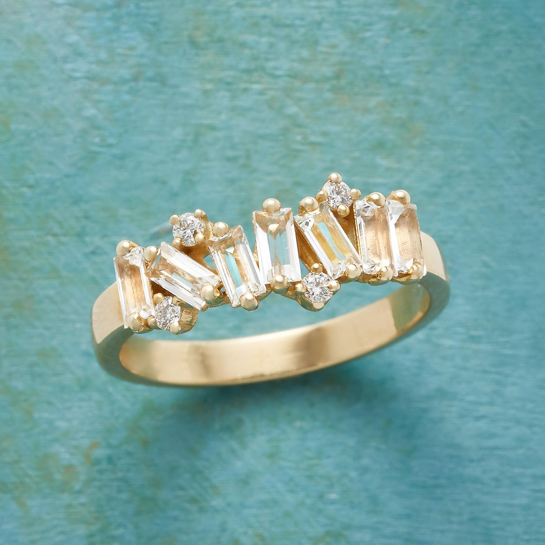 SCATTER SPARKLE RING: View 1