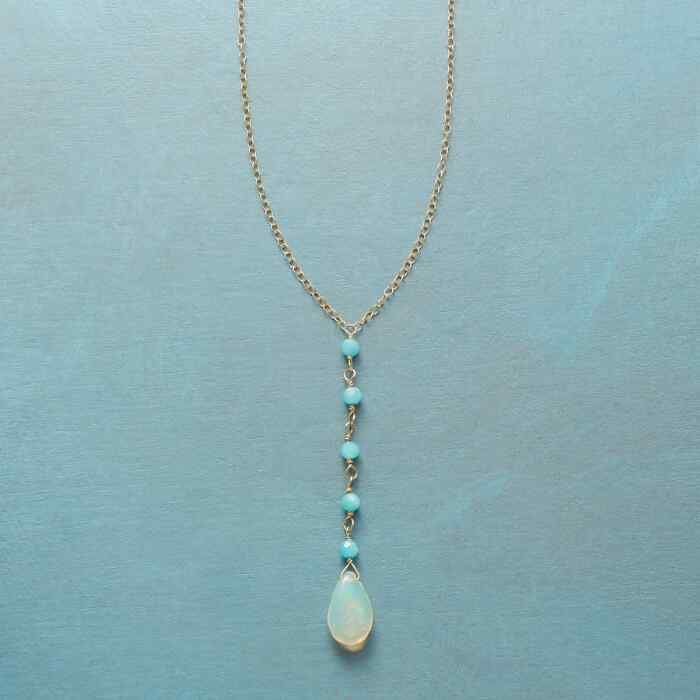 DROPLETS OF TRANQUILITY NECKLACE