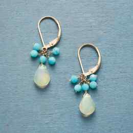 DROPLETS OF TRANQUILITY EARRINGS
