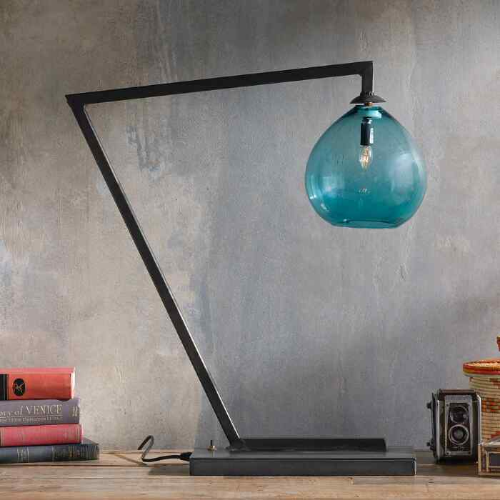 SALON GLASS TABLE LAMP