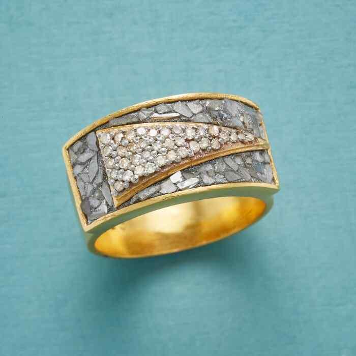 DIAMOND PENNANT RING